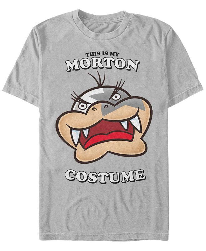 Fifth Sun Nintendo Men's Super Mario Morton Halloween Costume Short Sleeve T-Shirt