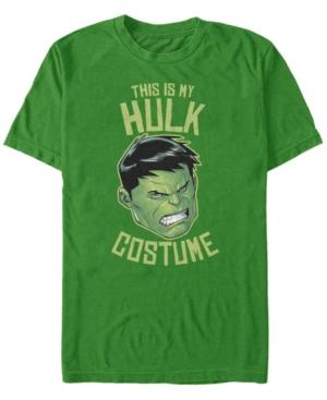 Marvel Men's Avengers Hulk Halloween Costume Short Sleeve T-Shirt