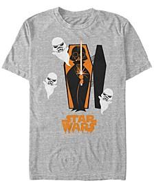 Star Wars Men's Darth Vader Coffin Storm trooper Ghosts Short Sleeve T-Shirt