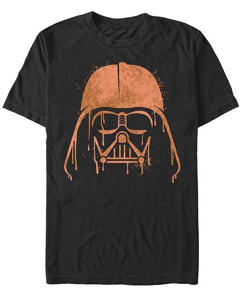 Fifth Sun Star Wars Men's Darth Vader Drip Big Face Short Sleeve T-Shirt