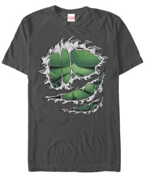 Marvel Men's Hulk Chest Costume Short Sleeve T-Shirt