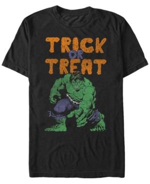 Marvel Men's Hulk Trick or Treat Halloween Short Sleeve T-Shirt