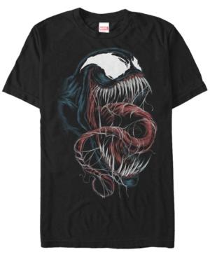 Marvel Men's Venom Big Face Short Sleeve T-Shirt