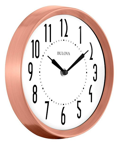 Bulova C4828 Cleaver Clock