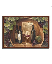 """At the Winery by Albena Hristova Framed Painting Print, 47"""" x 32"""""""