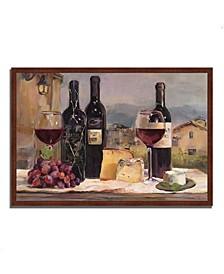 """Villa Reds by Marilyn Hageman Framed Painting Print, 47"""" x 32"""""""