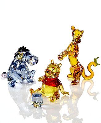 Swarovski Collectible Disney Figurines, Winnie the Pooh Collection