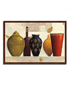 "Jeweled Vessels by James Wiens Framed Painting Print, 47"" x 32"""