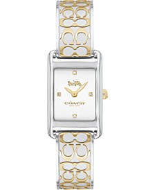 Women's Allie Two-Tone Stainless Steel Bracelet Watch 19x22mm