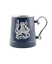 Speckled Octopus Decal Beer Mug
