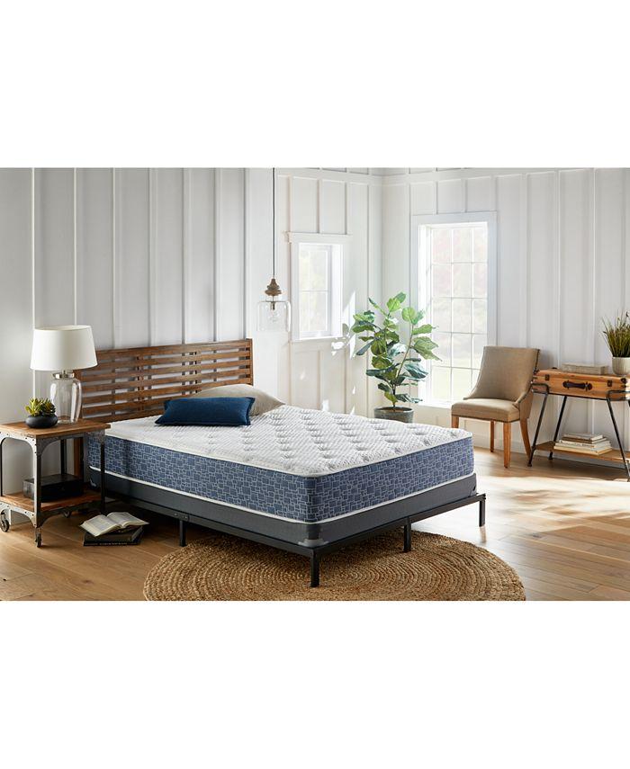 "Corsicana - American Bedding 11"" Tight Top Hybrid Gel Memory Foam and Spring Medium Firm Mattress- California King"