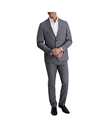 Stretch Windowpane Slim Fit Suit Separate Jacket