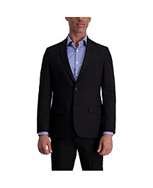 Stretch Stria Slim Fit Suit Separate Jacket