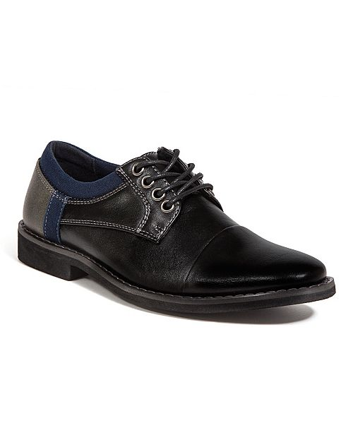 DEER STAGS Little and Big Boys Truckee Jr. Lightweight Dress Casual Fashion Comfort Oxford Shoes