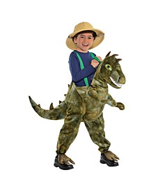 Little and Big Boys Ride on Dinosaur Costume
