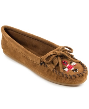 80s Shoes, Sneakers, Jelly flats Minnetonka Thunderbird Ii Moccasins Womens Shoes $49.95 AT vintagedancer.com