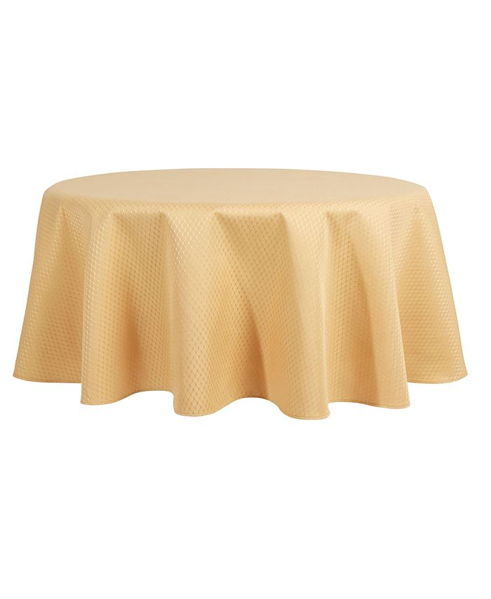 """Town & Country Living - McKenna Tablecloth, 70"""" Round"""