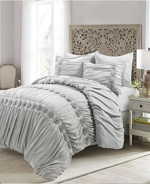 3 Piece Full Queen Comforter Set