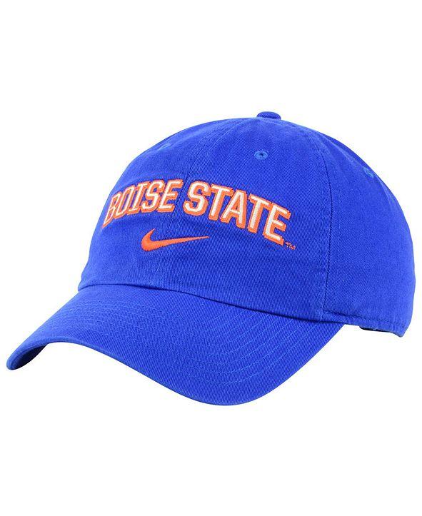 Nike Boise State Broncos H86 Wordmark Swoosh Cap