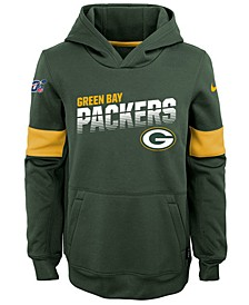 Big Boys Green Bay Packers Therma Hoodie