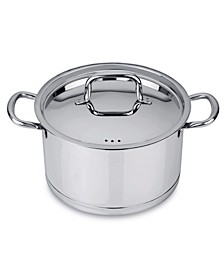 Collect'N'Cook Stainless Steel 6.6-Qt. Covered Stockpot