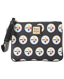 Pittsburgh Steelers Saffiano Stadium Wristlet