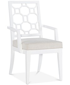 Chelsea Lattice Back Arm Chair