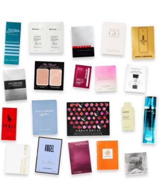 Receive a Free Mystery Sampler with any $50 Beauty purchase!
