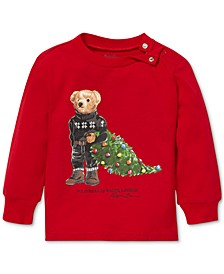 Baby Boys Holiday Bear Cotton T-Shirt