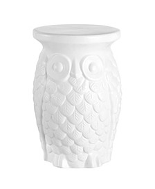 Groovy Owl Garden Stool, Quick Ship
