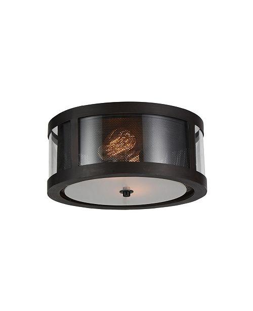 CWI Lighting CLOSEOUT! Souris 2 Light Flush Mount