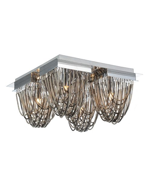 CWI Lighting CLOSEOUT! Isla 4 Light Flush Mount