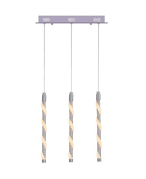 CWI Lighting CLOSEOUT! Aegeus LED Chandelier