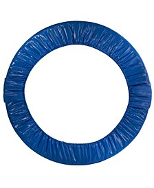 """40"""" Mini Round Foldable Replacement Trampoline Safety Pad for 6 Legs - Blue"""
