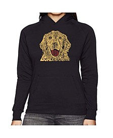 Women's Word Art Hooded Sweatshirt -Dog