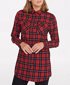 Michelle Check Tunic