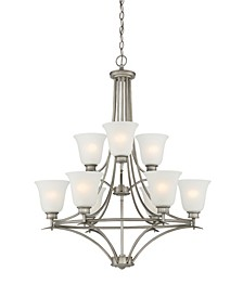 Designers Fountain Montego 9 Light Chandelier