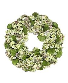 Permanent Botanicals Hydrangea Wreath