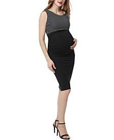 Bianca Maternity Midi Dress