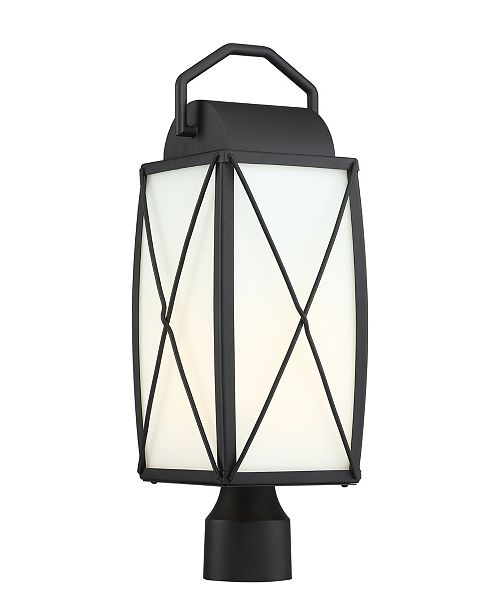 Designer's Fountain Designers Fountain Fairlington 1 Light Outdoor Post Lantern