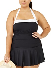 Plus Size Bel-Air Swim Dress