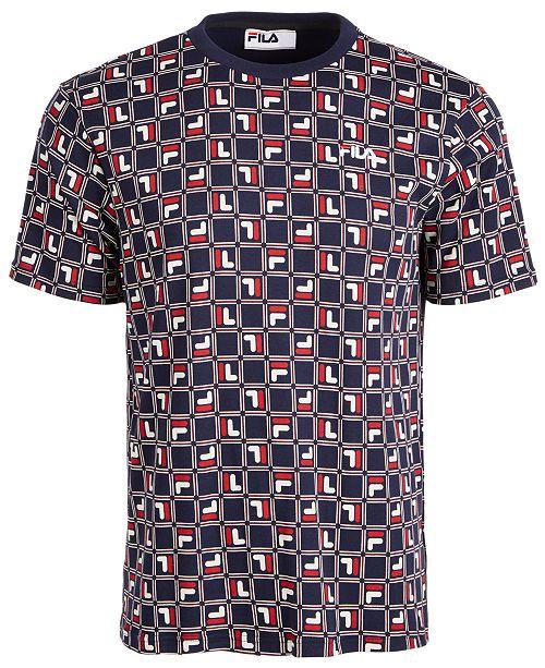 Fila Men's Agostino Logo T-Shirt
