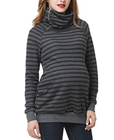 Emma Striped Maternity Sweatshirt