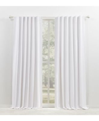 """Waller Blackout Solid Tab/Rod Pocket Curtain Panel, 52"""" x 108"""""""