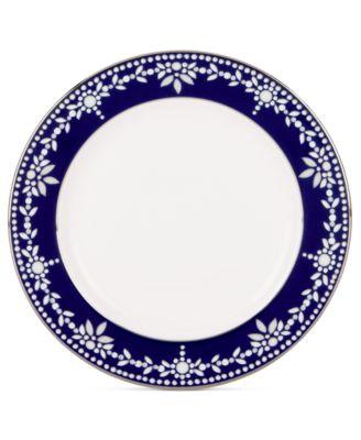 Empire Indigo Appetizer Plate