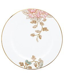 Marchesa by Lenox Painted Camellia Appetizer Plate