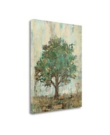 "Verdi Trees I by Silvia Vassileva Giclee Print on Gallery Wrap Canvas, 35"" x 45"""