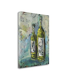"Wines in Grey II by Pamela J. Wingard Giclee Print on Gallery Wrap Canvas, 21"" x 27"""