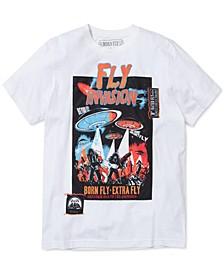 Men's Bates Mix-Media Graphic T-Shirt