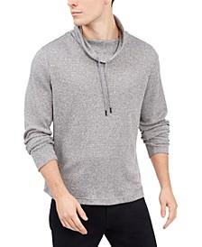 Men's Funnel-Neck Hooded Sweatshirt, Created For Macy's